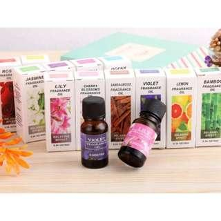 Natural Aromatherapy Fragance Oil - 9 Flavours available
