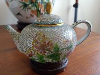Teapot cloisonne