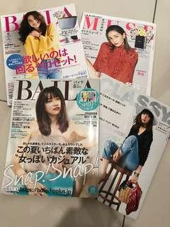 Japanese Fashion Magazine x4