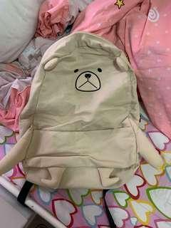 可愛小熊背包書包
