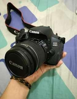 Canon Eos 650D Kit Fullset