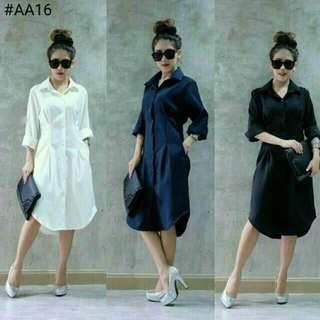 Tunik dress white