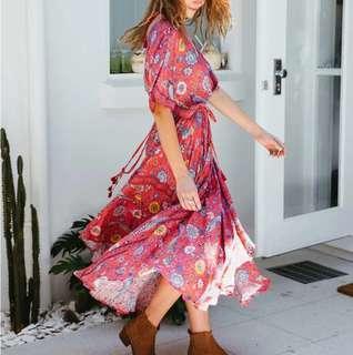 Similar to Spell red maxi midi boho festival dress