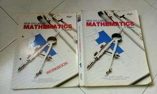 Secondary 1 math text and workbook
