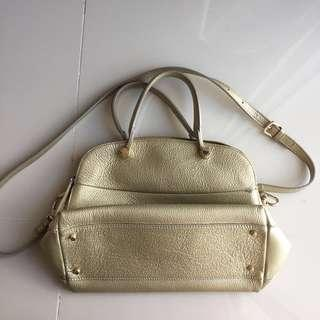 FURLA Gold leather bad ORIGINAL