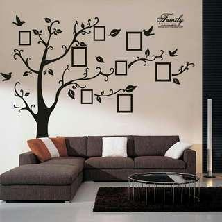 🔥Photo Family Wall Decals Mural Art🔥