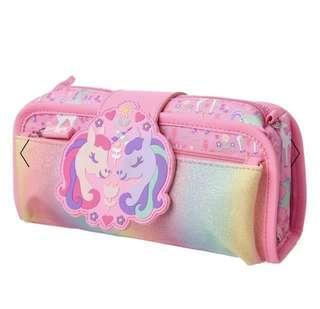 Authentic Smiggle Bling Utility Unicorn Pencil Case