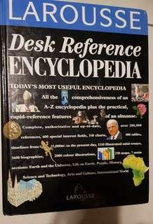 800 pages adult Encyclopedia with free children encyclopedia.  Very new.Desk Reference Encyclopedia. A-Z  Great condition. Great for learning.students,teachers and parents.
