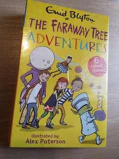 New The Faraway Tree Adventures 6 colour Stories Book Set by Enid Blyton
