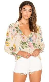 Similar to Auguste the Label floral boho top blouse