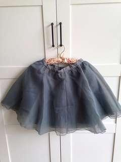 Korean Organza Skirt