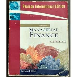 Principles of Managerial Finance, Brief (5th edition) - Lawrence J. Gitman [Paperback]