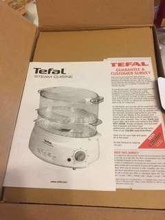 全新 Tefal 電蒸籠 100% New