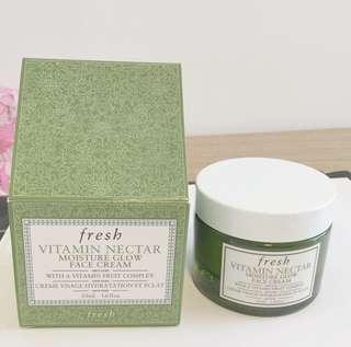 Fresh vitamin nectar face cream 50ml 維他果蜜亮活面霜