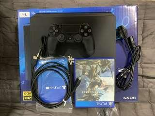 PS4 PRO 1TB with Monster Hunter World