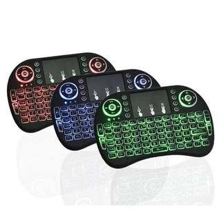 Portable Mini USB Wireless Keyboard Touch Pad Air Mouse Fly Remote Control