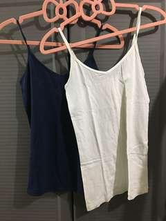 Buy1 Take1 Forever 21 Spaghetti Strap White and Blue