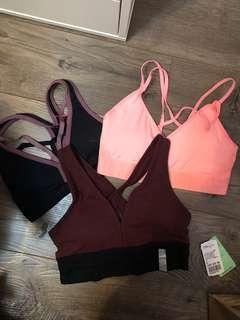 Xs/small Sports bras
