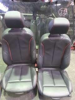 BMW F30 2014 SPORT ELECTRICAL LEATHER FRONT SEAT FRONT & LEFT