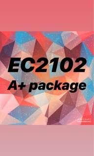 EC2102 A+ package Macroeconomics Analysis I