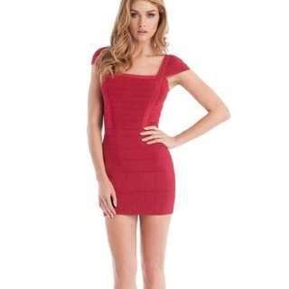 Pink Guess BodyCon Dress
