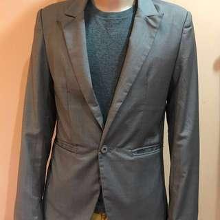 Men's Blazer - Brownish Grey