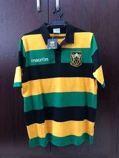 NEW - Macron Northampton Saints 2017/18 Supporters Rugby Shirt