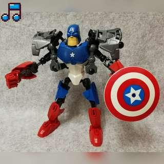 Marvel Captain America Figures Block