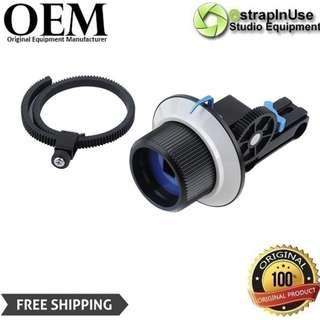 FOLLOW FOCUS KIT WITH GEAR RING BELT FOR 15MM ROD SYSTEM