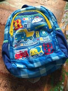 小朋友背囊 車Sanrio the Runabouts backpack
