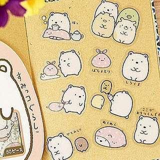 🚚 50pcs Sumikko Gurashi Stickers