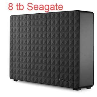 🚚 Brand New  Seagate Expansion 8TB Desktop External Hard Drive USB 3.0
