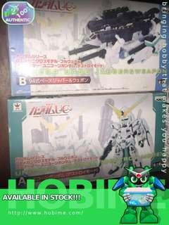 DX Mechanics Model Full Weapon Full Armor Unicorn Gundam Set (Destroy Mode)