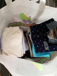 My baby bundle/romper/etc....