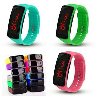 Digital Watch Silicone Sports 2018!!!