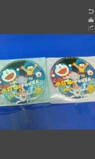 多啦a夢 劇場版 DVD光碟 共兩片