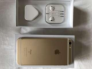 iPhone 6 Plus Gold 128GB. Open to nego