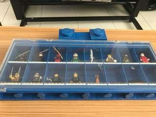 [LEGO SALE!!] lego display case with minifigures