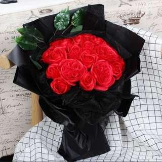 INSTOCK VALENTINE ROSES BOUQUET