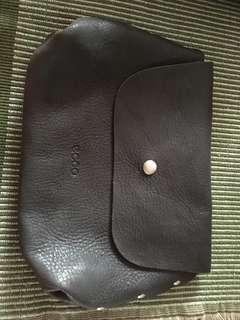 Pouch real leather ecco