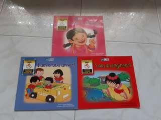English readers / storybooks Little People series