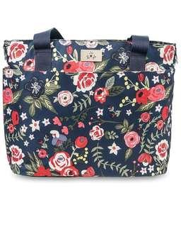 FREE delivery - JuJuBe Limited Edition Encore Diaper Tote Bag - Midnight Posy