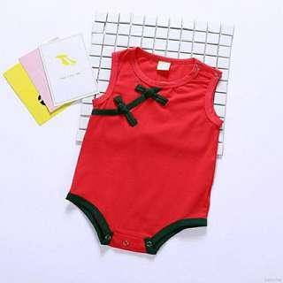 Simple baby CNY romper size 6-12m and 12-18m