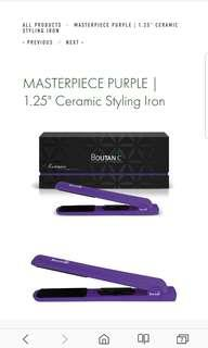 "BOUTANIC Masterpiece 1.25"" Ceramic Styling Iron"