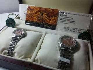 RN勞斯丹頓瑞士專業對錶(玫瑰金)