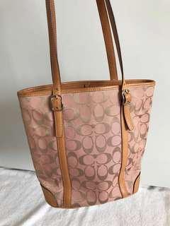 Coach 6612 Signature Handbag Canvas Women's