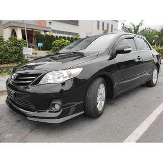 2011年TOYOTA ALTIS 1.8 省油省稅 全車無待修 非自售 找錢 超貸 實車實價 履約保證  一手車