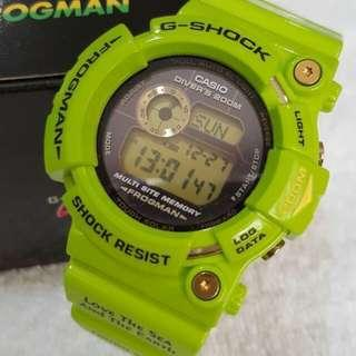 G Shock Frogman Rare Kermit Limited Edition