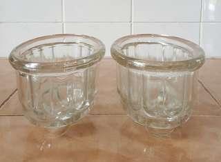 vintage bubble bottom oval bowl