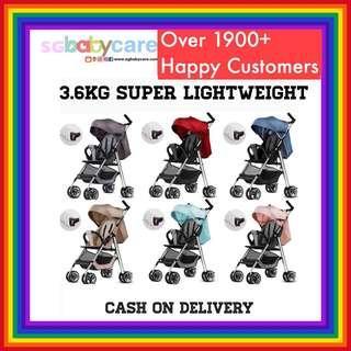 FREE DELIVERY 3.6kg Lightweight Stroller